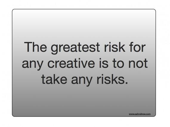creativity risks